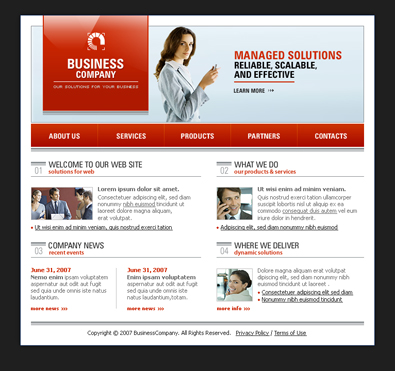 Free business templates free css templates free templates online download fbccfo
