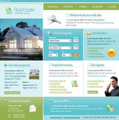 Free Real Estate Templates | Free Templates Online