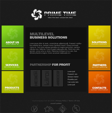 Free business template free css template free templates online download pronofoot35fo Images