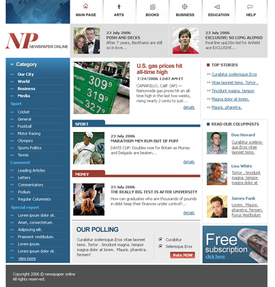 Newspaper online free templates online features premium templates free saigontimesfo
