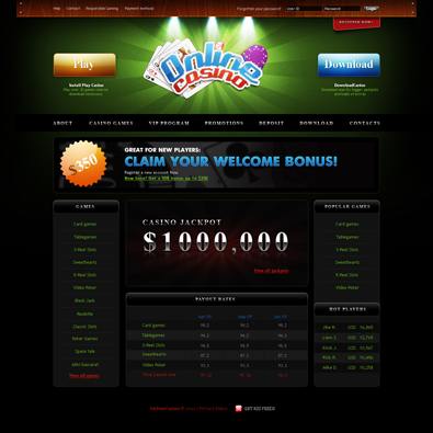 Casino free resource template web gambling technology trends
