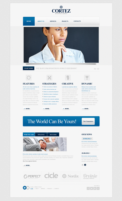 World class business website template css free templates online features premium templates free accmission Gallery