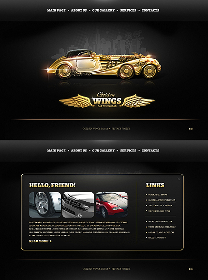 Car Html Templates Category Cars | Free Templates Online Page 21