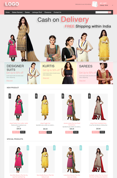Free Online Store WordPress Template | Free Templates Online