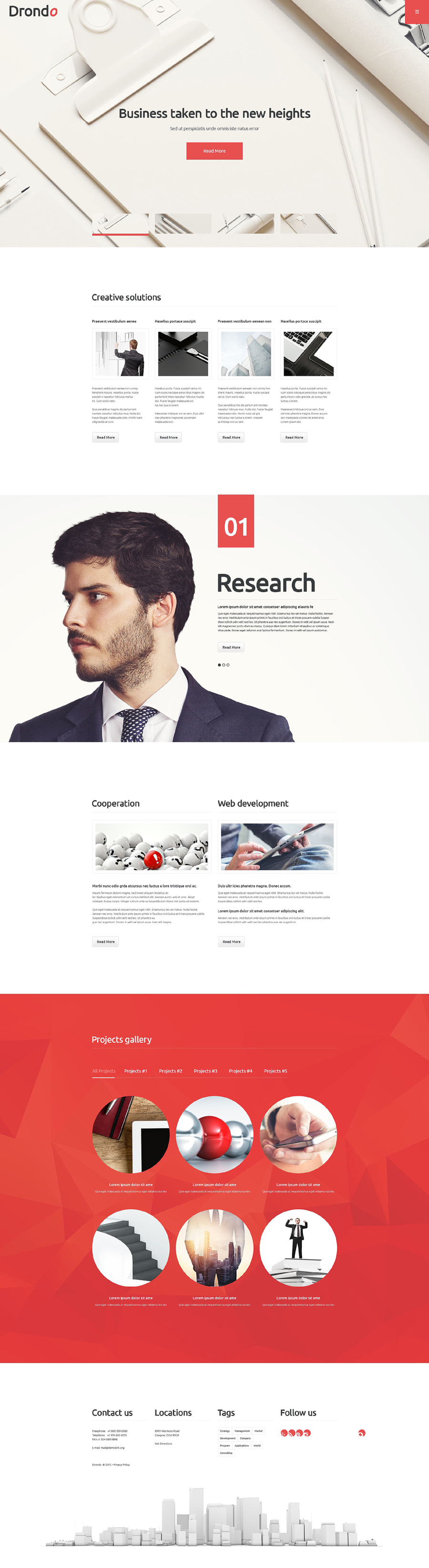 Drondo WordPress Theme