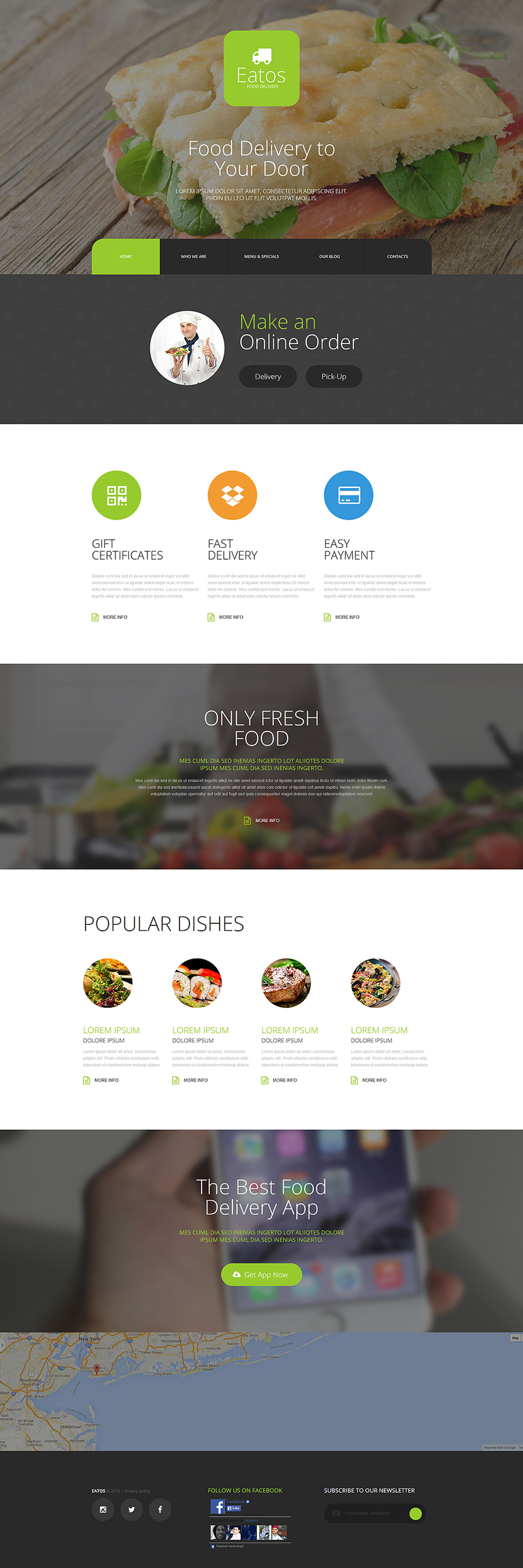 Eatos Joomla Template
