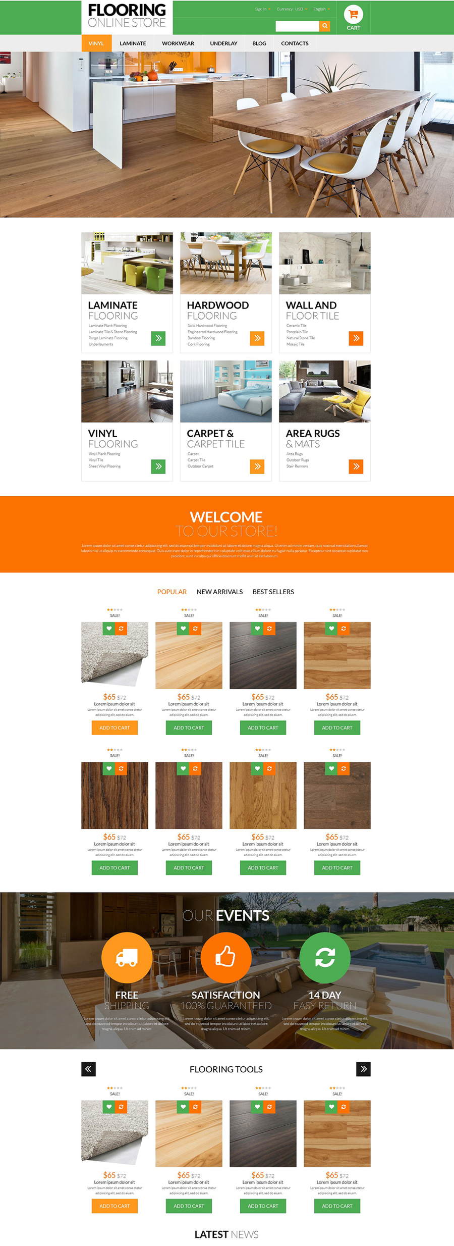 Interior & Furniture PrestaShop Theme