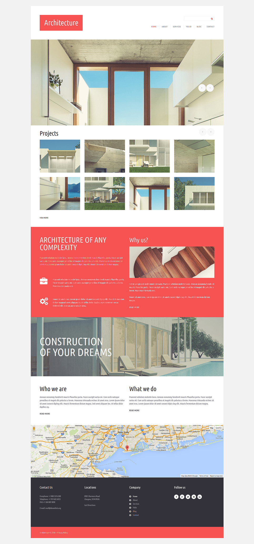 Architecture Design Joomla Template