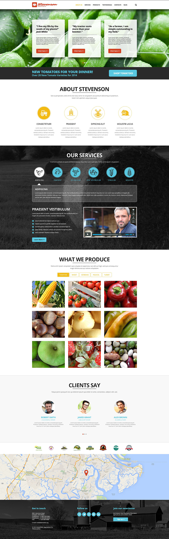 Farming Agriculture Joomla Template