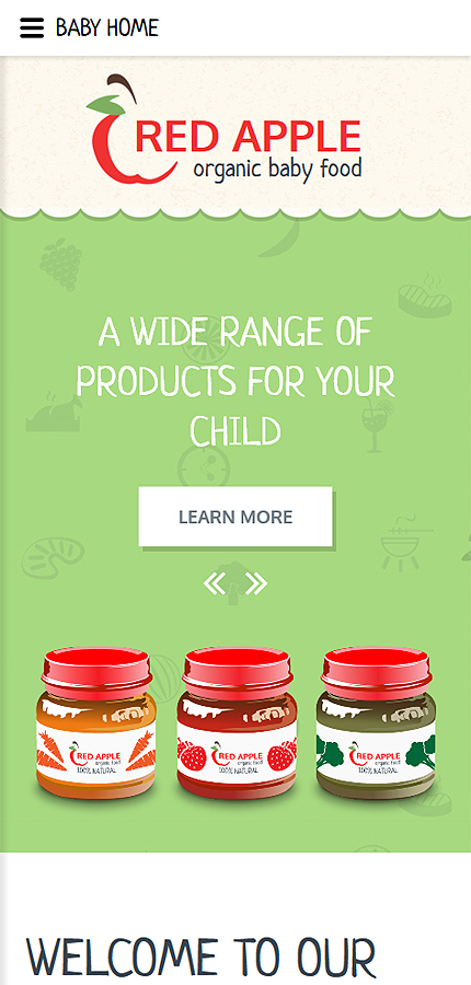 Red Apple Website Template Free Templates Online h0fPCpJw