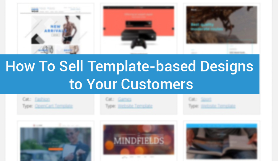 How To Sell Template-based Designs