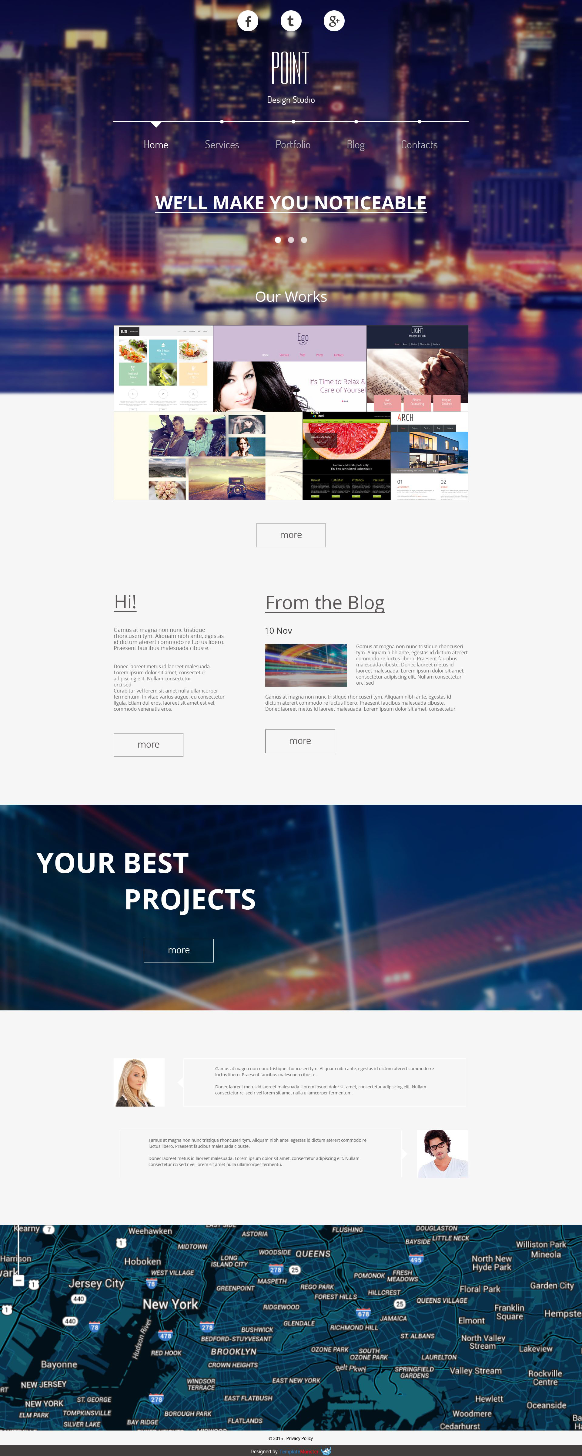 free website design templates - free website template for design agency free templates