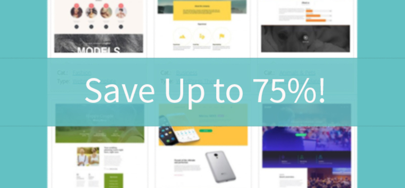 February Sale Save Up To Free Templates Online - Web templates for sale