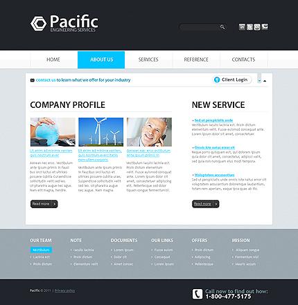 Free Corporate Website Template