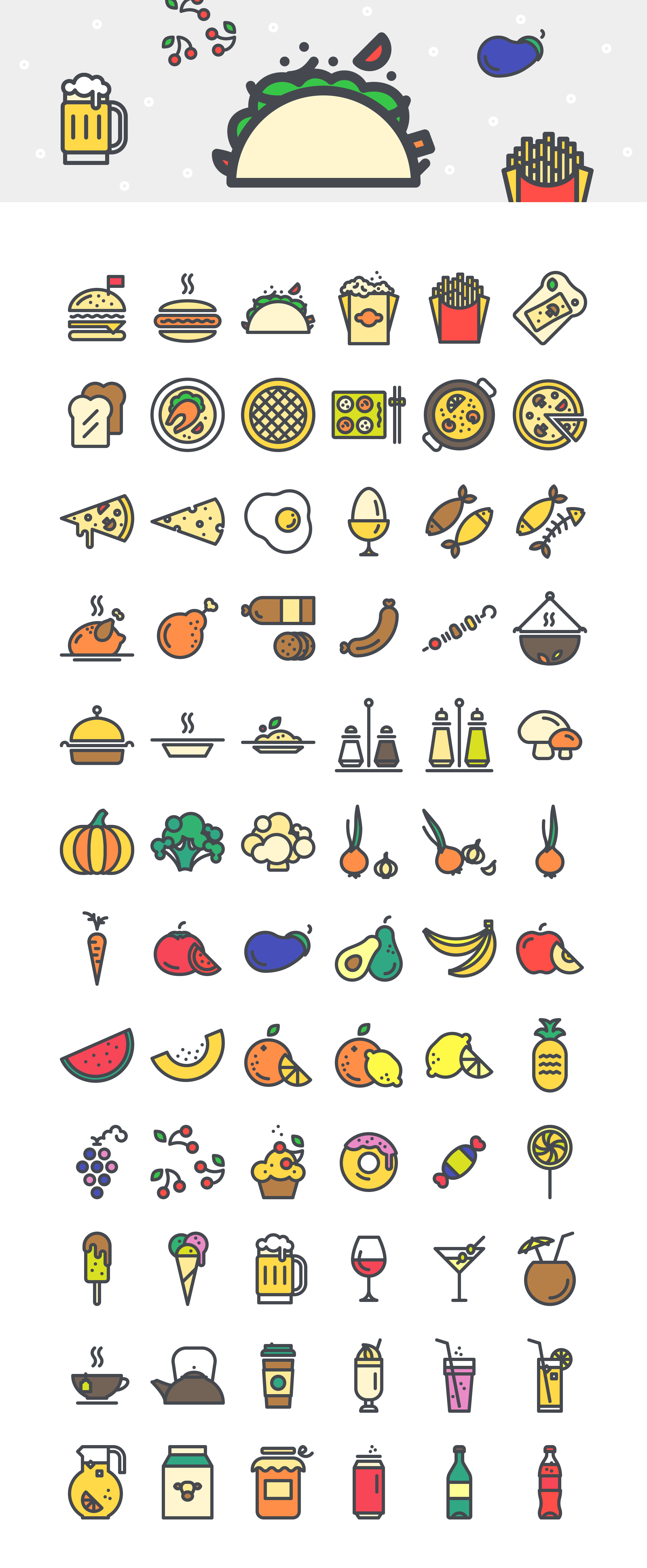 Colored-Icons-Set