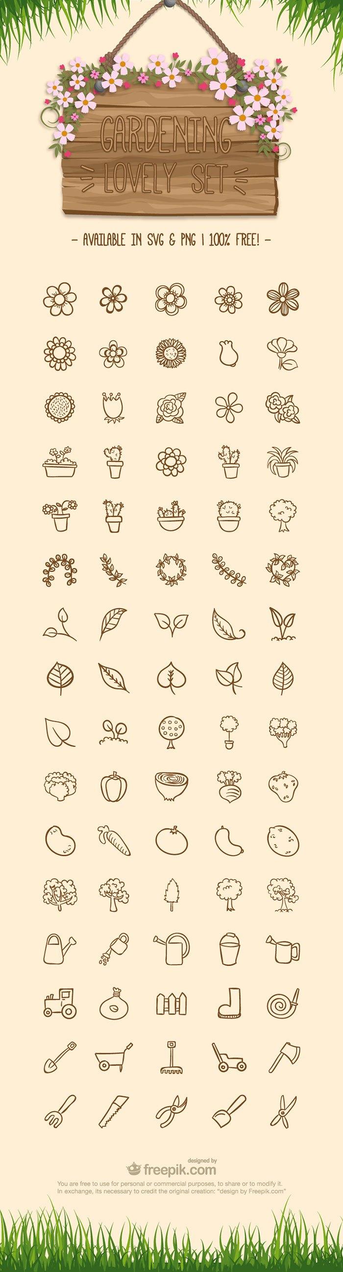 Free-Gardening-Icon-Set