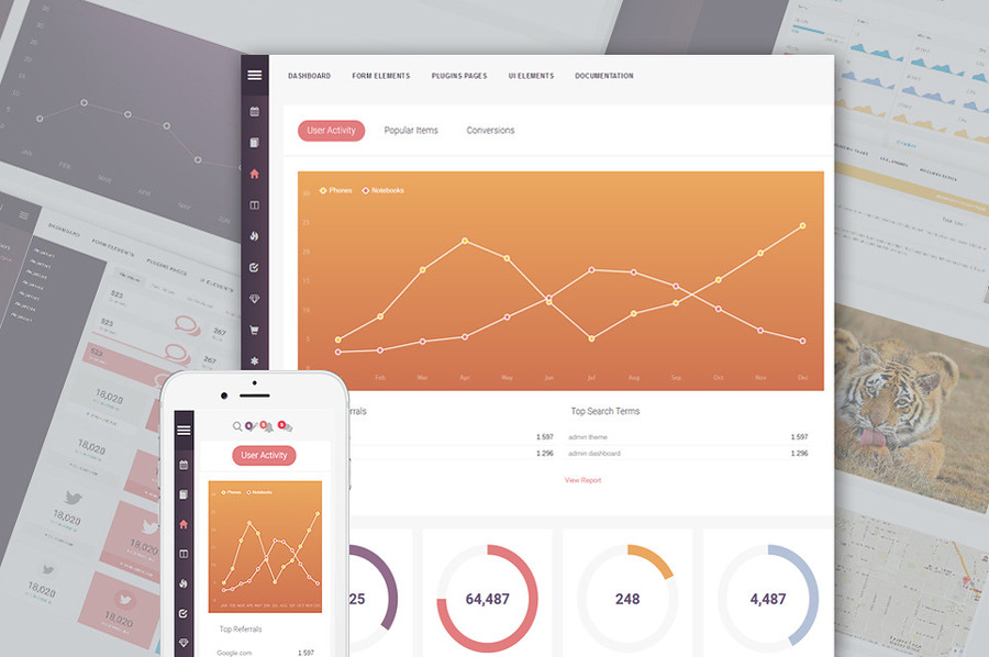 Rubikus Dashboard Admin Template