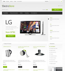 online storefront templates